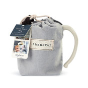 The Heart Mug provides its owner with cozy reflection time and calm. Each time they enjoy coffee or tea with this gift, the warmth of this mug will warm their heart.  Comes with an extra-giftable bag.