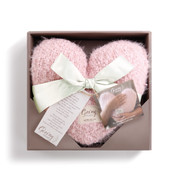 pink weighted giving heart demdaco gift