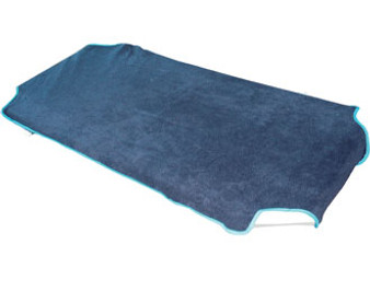 Navy Fleece Stacker Bed Fitted Sheet