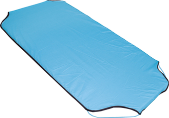 Aqua Polycotton Fitted Stacker Bed Sheet