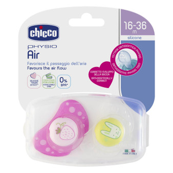 Physio Air Soother 16-36m 2pk - Girl