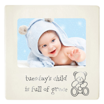 Baby Photo Frame - Tuesday's Child
