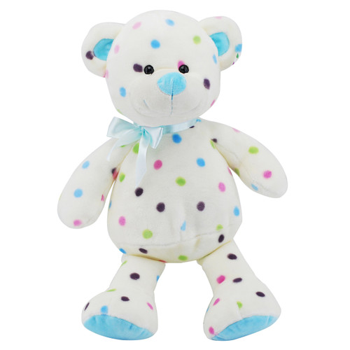 Dot Bear Blue 30cm