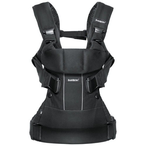 Baby Carrier One [Black Cotton]