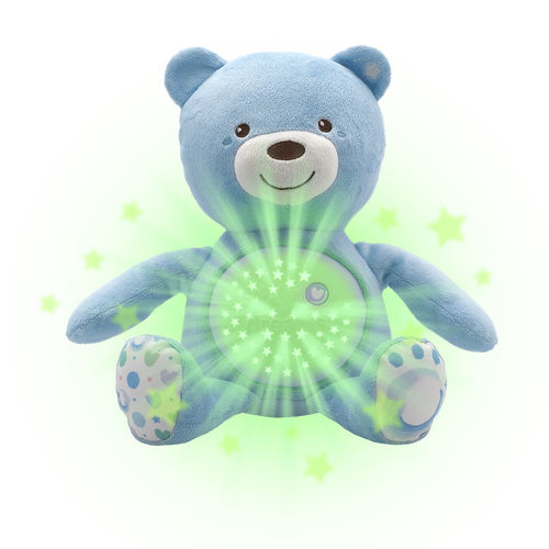 First Dreams Baby Bear Soft Toy Blue