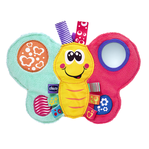 Baby Senses Rattle Butterfly Daisy
