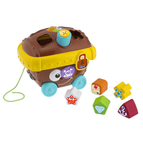 Baby Classic Shape Sorter - Pirates Treasure Chest