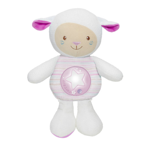 First Dreams Lullaby Sheep Pink