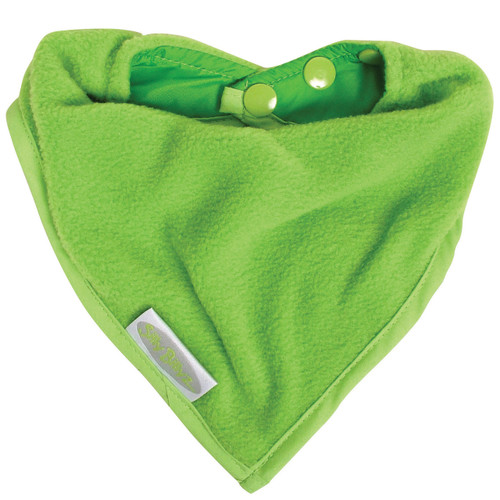 Lime Fleece Bandana