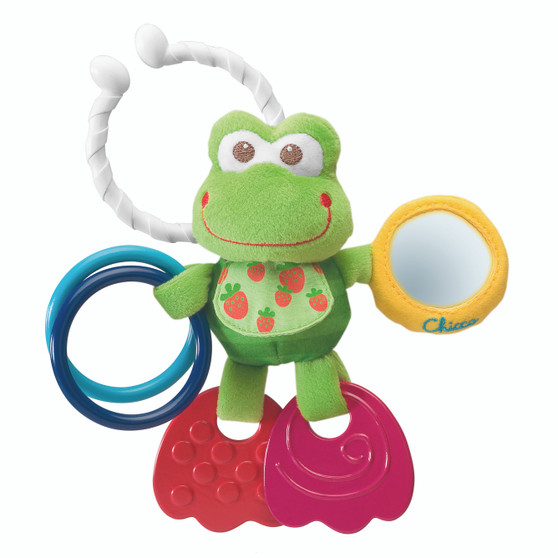 First Activities Frog - Stroller Toy