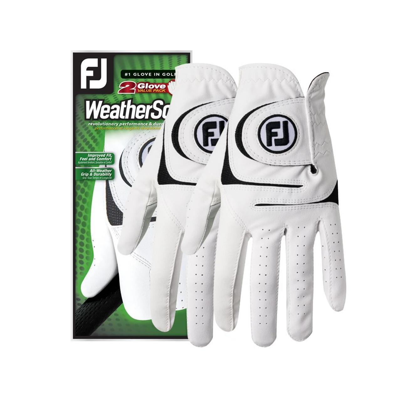 footjoy weathersof golf glove 2 pack fiddler s green golf center