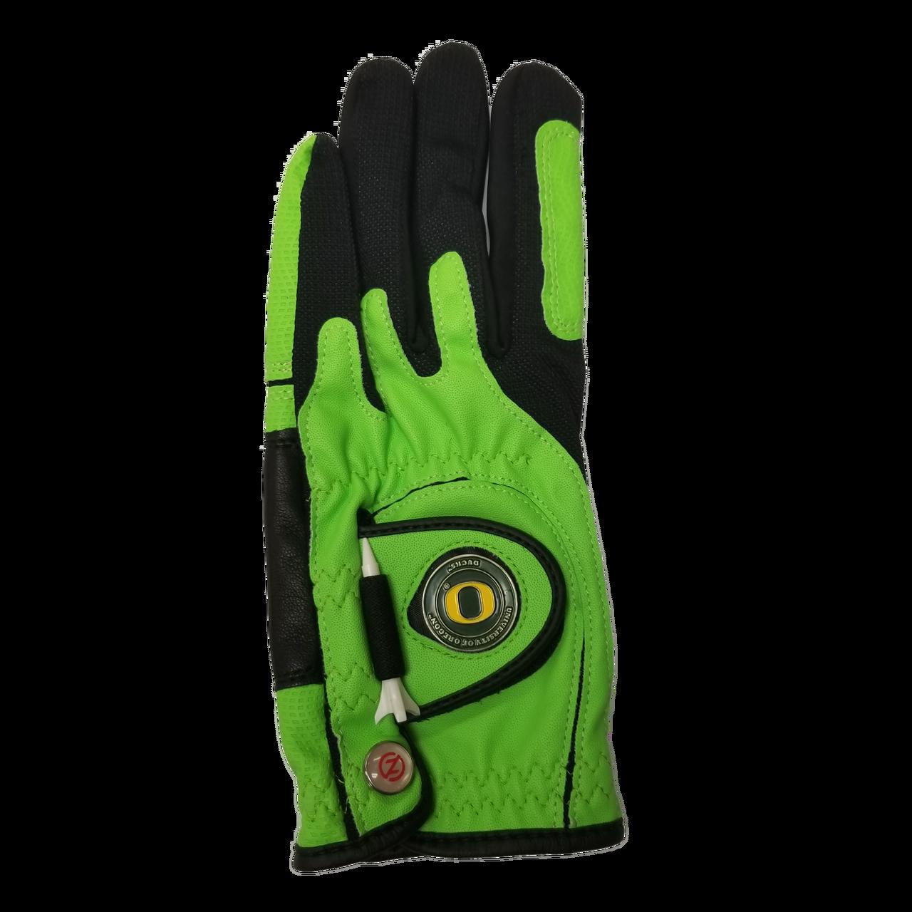 Zero Friction Oregon Ducks Golf Glove (Green)