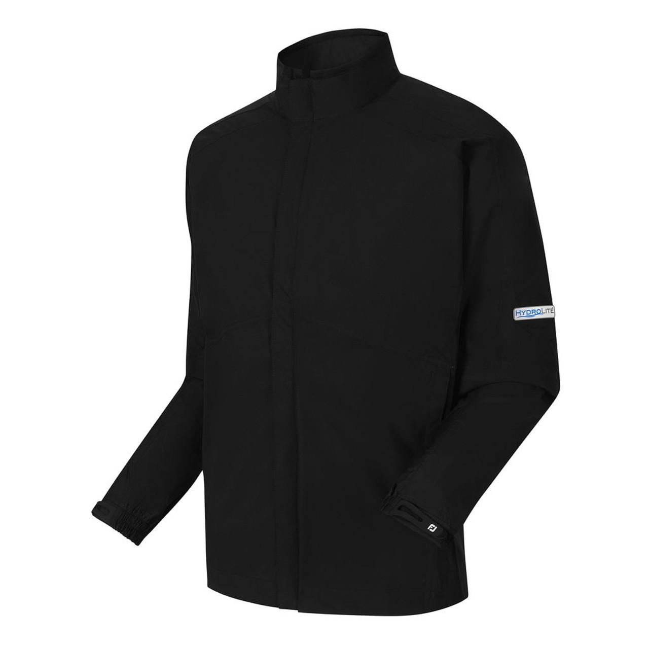 d304b1cb281c FJ HydroLite Rain Jacket Zip-Off Sleeves (Black) - Fiddler s Green Golf  Center