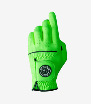 Asher Lime Green Chuck 2.0 Golf Glove