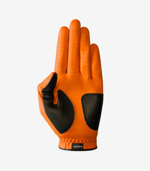 Asher Orange Chuck 2.0 Golf Glove