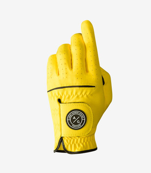 Asher Yellow Chuck 2.0 Golf Glove