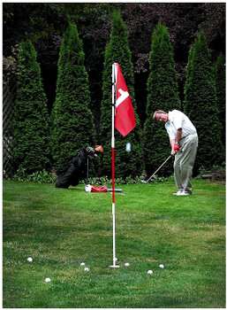 Backyard Flagstick and Cup