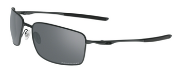 Oakley Sunglasses Squarewire Carbon Frames with Grey Polarized Lenses, OO4075-04