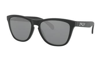 Oakley Frogskins Sunglasses, Matte Black Frames with Prizm Black Lenses. OO9013-F755