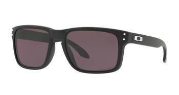 Oakley Holbrook Sunglasses, Matte Plack Frames, Prizm Grey Lenses, OO9102-E855