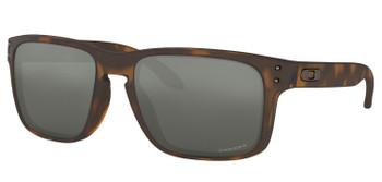 Oakley Holbrook Sunglasses, Matte Brown Tortoise Frames, Prizm Black Lenses, OO9102-F455