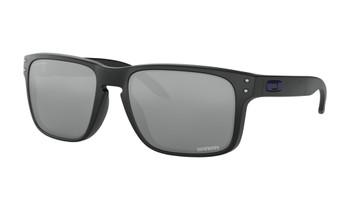 Oakley Dallas Cowboys Holbrook Sunglasses, Matte Black Frames with Prizm Black Lenses, OO9102-L855
