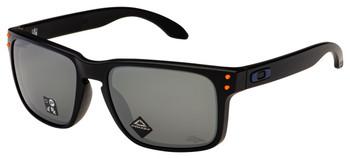 Oakley Broncos Holbrook Sunglasses, Matte Black Frames with Prizm Black Lenses, OO9102-L955