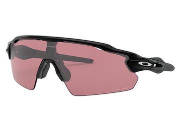 Oakley Radar EV Path Sunglasses, Polished Black Frames, Prizm Dark Golf Lenses, OO9208-1838