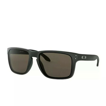 Oakley Holbrook XL Sunglasses, Matte Black Frames, Warm Grey Lenses, OO9417-0159