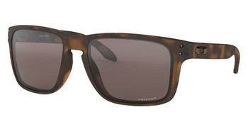Oakley Holbrook XL Sunglasses, Matte Brown Tortoise Frames, Prizm Black Lenses, OO9417-0259
