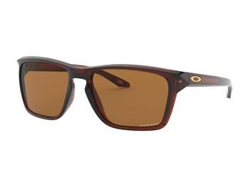 Oakley Sylas Sunglasses, Polar Rootbeer Frames, Prizm Bronze Lenses, OO9448-0257