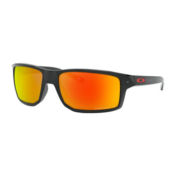 Oakley Gibston Sunglasses, Polar Black Ink Frames, Prizm Ruby Polar Lenses, OO9449-0560