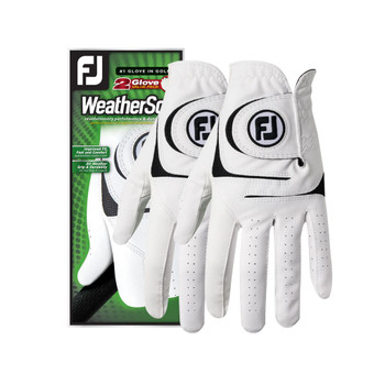 FootJoy WeatherSof Golf Glove (2 Pack)