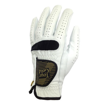 Galaxy Tour Gold Golf Glove