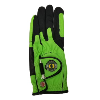 Zero Friction Oregon Ducks Golf Glove (Green)