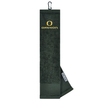 "Oregon Ducks 16"" x 24"" Face & Club Tri-Fold Towel"