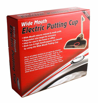 ProActive Sports Wide Mouth Electric Putting Cup