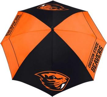 "Team Effort Oregon State Beavers 62"" Windsheer Lite Golf Umbrella"