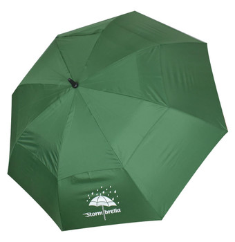 "Stormbrella Golf- 62"" Dual Canopy Umbrella (Green)"