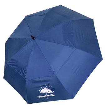 "Stormbrella Golf- 62"" Dual Canopy Umbrella (Blue)"