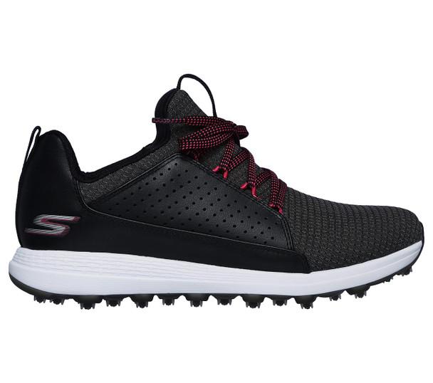 Skechers Go Golf Max Mojo Ladies Golf Shoes (Black/Pink) 14887BKHP