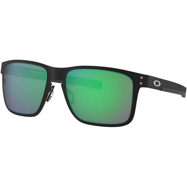 Oakley Holbrook Sunglasses with metal matte black frames and Jade Iridium Lenses_OO4123-0455