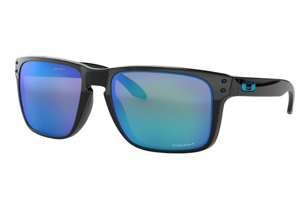 Oakley Holbrook XL Sunglasses, Polar Black Frames, Prizm Sapphire Lenses, OO9417-0359