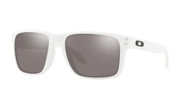 Oakley Holbrook XL Sunglasses, Matte White Frames, Prizm Black Lenses, OO9417-1559