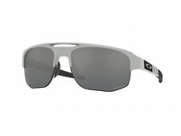 Oakley Mercenary Sunglasses, Matte Fog Frames, Prizm Black Lenses, OO9424-0370