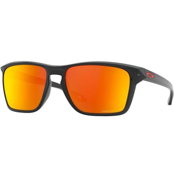 Oakley Sylas Sunglasses, Polar Black Ink Frames, Prizm Ruby Lenses, OO9448-0557