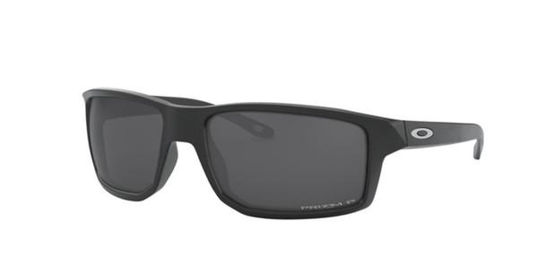 Oakley Gibston Sunglasses, Matte Black Ink Frames, Prizm Black Polar Lenses, OO9449-0660