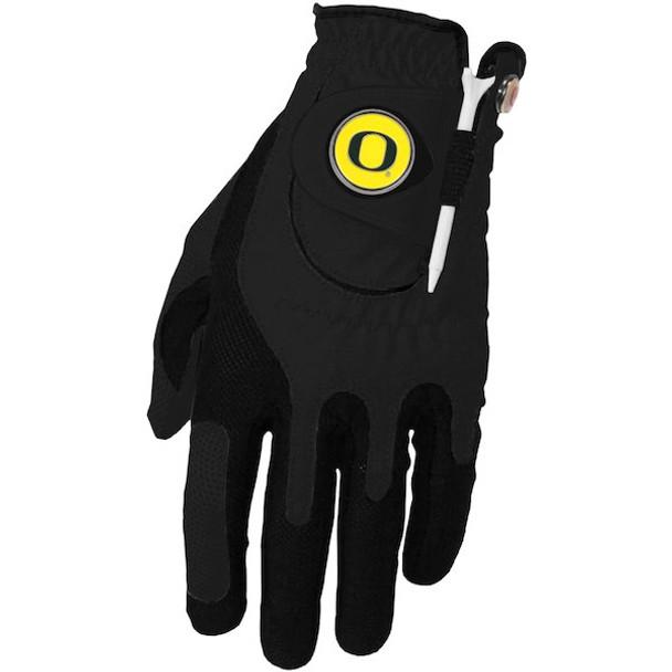Zero Friction Oregon Ducks Golf Glove (Black)