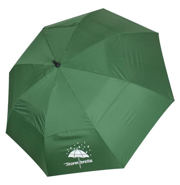 """Stormbrella Golf- 62"""" Dual Canopy Umbrella (Green)"""
