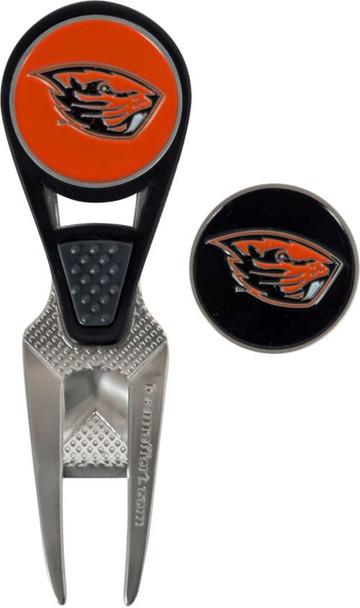 Team Effort Oregon State Beavers CVX Divot Tool and Ball Marker Set